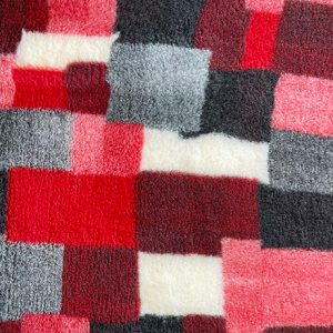 Red and Black Patchwork VetBed