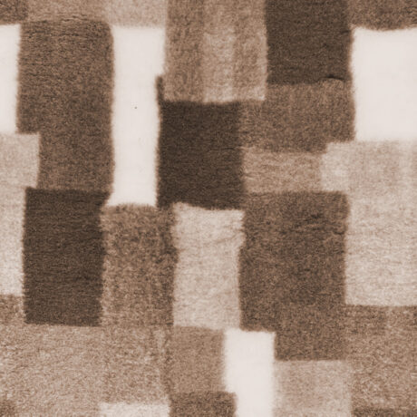 Chocolate Patchwork VetBed