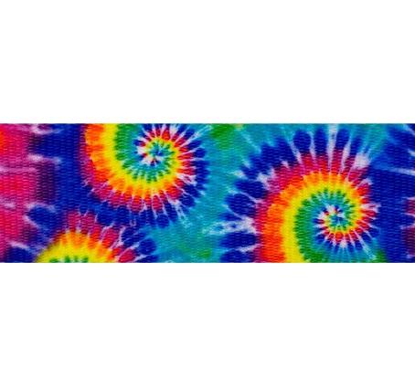 Colour Tie Dye Webbing