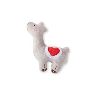 Miniz Love Llamas Grey