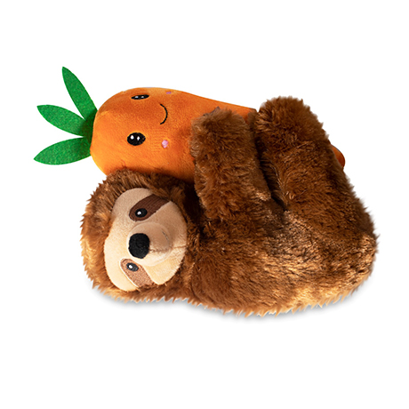 Fringe Sloth Hugging Carrot