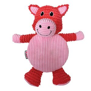 KONG Low Stuff Crackle Tummiez Pig