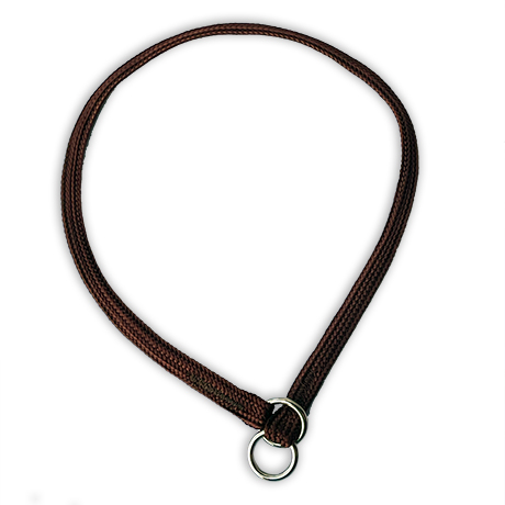 Nylon Slip Collar 6mm Brown