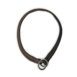 Nylon Slip Collar 8mm Brown