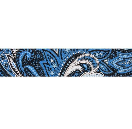 Paisley Blue Webbing