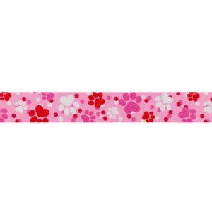 Pink Puppy Love Webbing