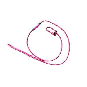 Bling Slip Lead 5mm Hot Pink