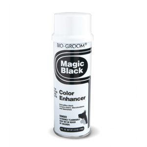Bio-Groom Magic Black Coat Enhancer Spray-on Chalk 142g