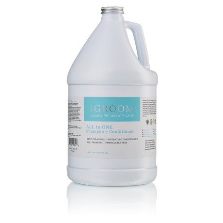 iGroom All in One Shampoo + Conditioner 3.8L