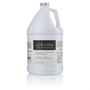 iGroom Charcoal + Keratin Conditioner 1 Gallon (3.8L)