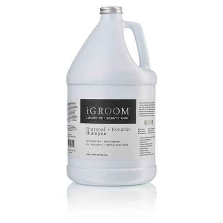 iGroom Charcoal + Keratin Shampoo 1 Gallon (3.8L)