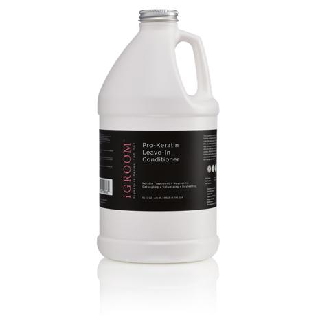 iGroom Pro-Keratin Leave-In Conditioner 64oz (1.89L)