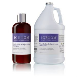 iGroom True Colour Brightening Shampoo Group