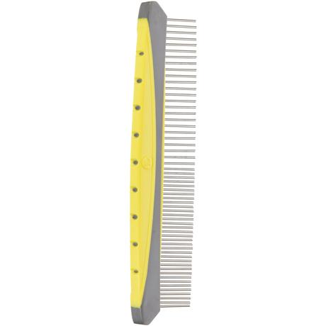 JW GripSoft Rotating Comfort Grooming Comb Fine & Coarse