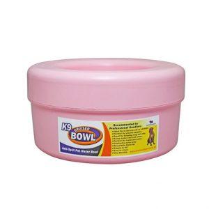 K9 Cruiser Anti-Spill Pet Water Travel Bowl Light Pink