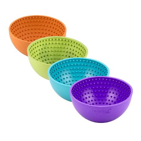 LickiMat Wobble Slow Feeder Boredom Buster Bowl Group