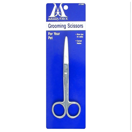 Millers Forge Grooming Scissors with Curved Blade