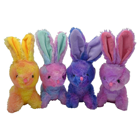 Snuggle Buddies - Tie Dye Bunnies