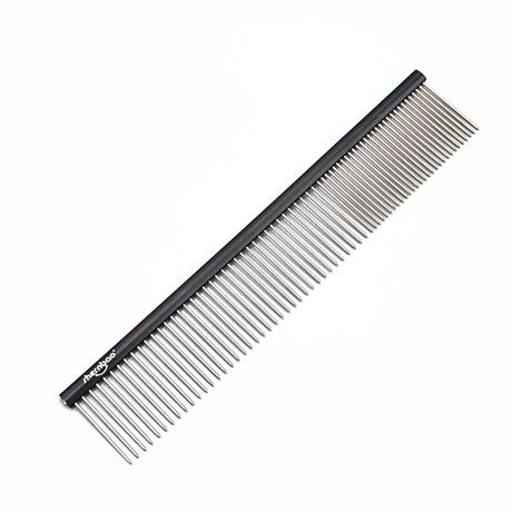 Shernbao Professional Pet Comb 19cm - Black