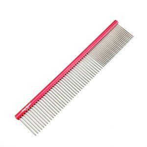 Shernbao Professional Pet Comb 19cm - Red