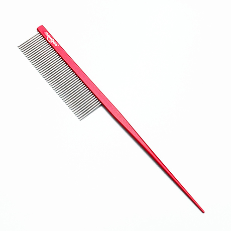 Shernbao Professional Pet Tail Comb - Red