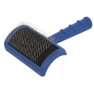 Show Tech Tuffer Than Tangles Slicker Brush (Long Firm Pin) - Medium