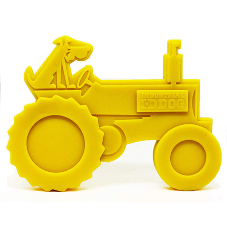 SodaPup Chew Toy Tractor