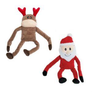 Zippy Paws Crinkle Christmas Group