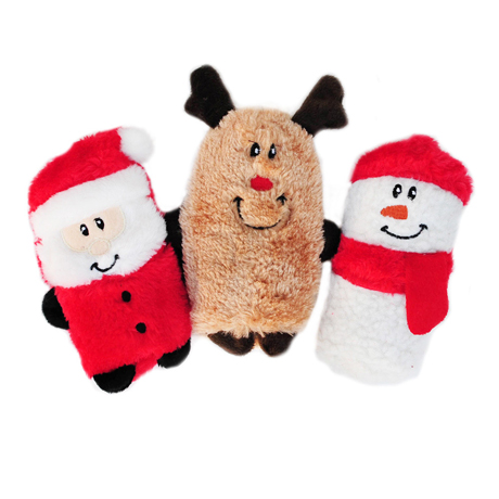 Zippy Paws Squeakie Buddies Christmas