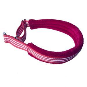 Fluff Collar Red White Stripe